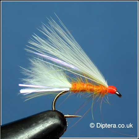 Orange Cats Whisker Mini Lure Fly Image