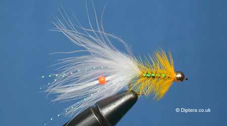 How to Add a Bead into a Marabou Tail Goldhead