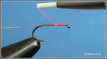 Tying in Wire onto the Hook Shank